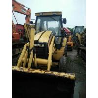 China 2010 usa Used caterpillar front end loader heavy machinery CAT backhoe loader 416 420e yellow skid steer loader on sale