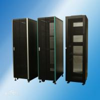Buy cheap Black Color Rack Enclosure Server Cabinet / Computer Racks And Cabinets YH2001 from wholesalers