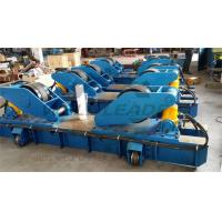 Quality Hydraulic Fit Up Rotator 160Ton Wind Tower Growing line Move on Rails for sale