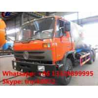 dongfeng mobile road lpg gas tank transported truck for sale, best price 10metric tons bulk propane gas delivery truck Manufactures