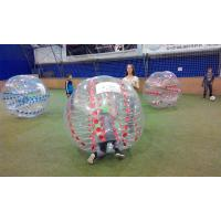 Advertising Clear  Inflatable Sports Games Soccer Ball Can Accept Design Manufactures