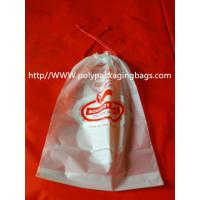 Moisture Resistant Drawstring Plastic Bags / Drawstring Storage Bags Manufactures