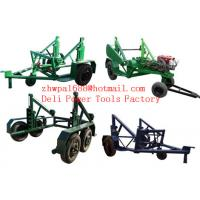 Buy cheap Cable Reel Puller Cable Reels Cable reel carrier trailer from wholesalers