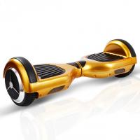 Golden Rechargeable Battery Powered Mini Segway Scooter , Electric Drifting Scooter Hover Board Manufactures