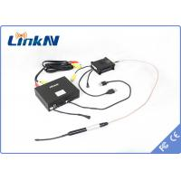 H.264 HD / SD COFDM wireless video transmitter / mini long range video transmitter for UAV / UAS Manufactures