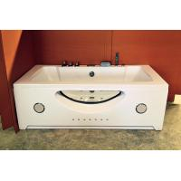 Double Jacuzzi Whirlpool Bath Tub Small Deep Soaking Tub Computer Control Ss Support Manufactures