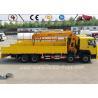 Sinotruk Howo Chassis 8x4 Heavy Duty Crane Truck Telescope Boom Crane Truck Mounted Manufactures