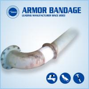China Pipe fix knit Underground pipe repair Pipe repair bandage Pipe repair armored wrap tape on sale