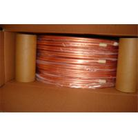1/4 Inch T2 Split Air Conditioner Copper Pipe Seamless Oiled , Round Manufactures