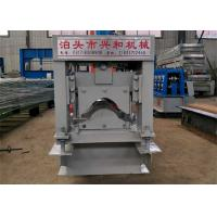 Automatic Ridge Cap Roll Forming Machine , Steel Stud Roll Forming Machine  Manufactures