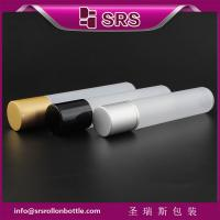 Quality wholesale small capacity 35ml roller bottle and 35ml plastic roll on bottle for sale