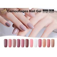 Camouflage Cover Extend Nails Gel , Jelly / Bonding Gel For Nails At Home Manufactures