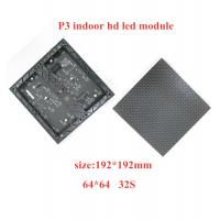 SMD2121 Indoor Full Color LED Display Video 192*192mm Module 3.0mm Pixel Pitch Manufactures