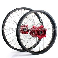 Buy cheap OEM Aluminum Motorcycle Wheel Set With Hubs Stainless Steel Spokes from wholesalers