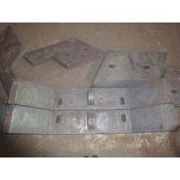Sill Bar of High Chromium Cast Iron Chute Liners Made in China Hardness more than HRC50 Manufactures