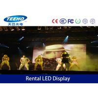 P12.5 LED Color Display Screen For Stage , Large Screen Hire 3528 SMD 50mm Manufactures