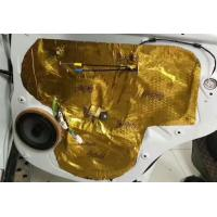 Buy cheap Professional Car Door Sound Deadening Insulation Shockproof , Tear Resistance from wholesalers