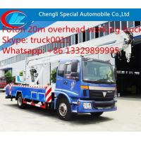 Foton Auman  4*2 LHD 20m high altitude operation truck for sale,FOTON brand 20m overhead working platform truck for sale Manufactures