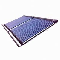 Solar keymark heat pipe solar thermal collector, simple operation Manufactures