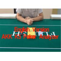 English Verson AKK K5 Poker Cards Analyzer for Reporting Poker Results  in Advance Manufactures