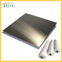 Metal Wire Drawing Board Pvc Cling Film , Self Adhesive Pvc Film Roll Anti Dust Manufactures