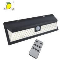China Bright LED Solar Rechargeable Light Outdoor Motion Sensor Light 8-10 Hours Charge Time on sale