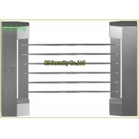 Electronic Security Supermarket Swing Gate Pedestrian IP54 RS485 Dual Turnstile Manufactures
