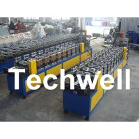 0.4 - 1.0mm Thickness 0 - 15m/min Speed C Stud Roll Forming Machine For Light Steel Keel Manufactures