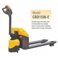 Electric Pallet Jack With 1500KGS Lifting Capacity , CBD15W-E , Economic Model Manufactures