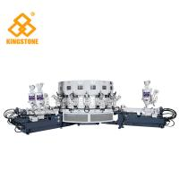Automatic Three Colors  PVC Shoes Making Machine For Basketball / Jogging / Casual Shoes Manufactures
