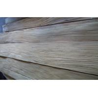 Natural Zebrano Quarter Cut Plywood Veneer , 0.45mm Thickness Manufactures