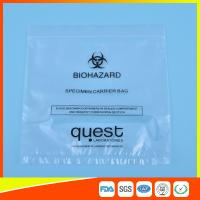 Leak Proof Soft Specimen Transport Bags For Transporting Lab Specimens Manufactures