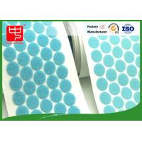 Good Sticky self adhesive hook and loop dots Female and Male side hook and loop patches Manufactures