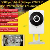 EC1 360Eye S 185degree Panorama Camera iOS/Android APP Night Vision 720P CCTV IP P2P WiFi Wireless Surveillance Security Manufactures