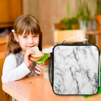 Buy cheap Portable Lightweight Reusable Marble Insulated Lunch Tote Bag from wholesalers
