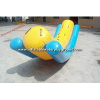 Commercial Grade PVC Inflatable Water Totter , Inflatable Water Toys Manufactures