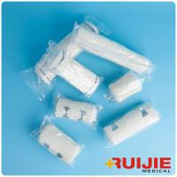 China Disposable Medical Supplies White color Elastic Crepe Bandage on sale