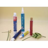 100% Recyclable Packaging Tubes , 20g Round Aluminium Collapsible Tubes Manufactures