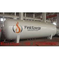 High quality 50M3 surface lpg gas storage tank for sale, best price 50m3 bulk cooking propane gas storage tank Manufactures
