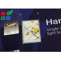 Quality Magnetic LED Backlit Light Box A3 A4 Graphic Size With Cable Hanging CE Approved for sale