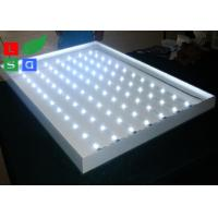 Quality 45mm Thickness LED Frameless Fabric Light Box Single Side For Clothes Retail Display for sale