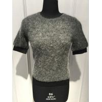 Fashionable Lady Mohair Sweater Short Sleeve Anti Shrink BGAX16114 Manufactures