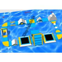 Quality PVC King Inflatable Supply Floating Water Park With Inflatable Games Toys for sale