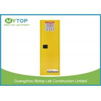 Multi Layer Flammable Storage Cabinet , Chemical Liquid Corrosive Storage Cabinets Manufactures