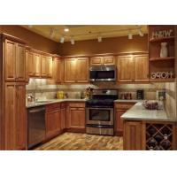 Classical Solid Wood Kitchen Cupboards Manufactures