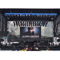 Buy cheap High Definition P6 Full Color Rental Outdoor Smd Led Display Screen Waterproof Super Slim Cabiet from wholesalers