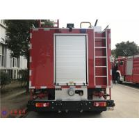 88kw 2900hp 2000L Water Tanker Fire Truck 2+3 Seat With MSB Manual Gearbox Manufactures