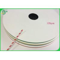 Buy cheap 120GSM Foodgrade Automatic Straw Manufacturing Paper With Reel Package from wholesalers