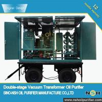 Stainless Steel Dehydrator Vacuum Oil Purifier For Treating Electrical Insulating Oil Manufactures