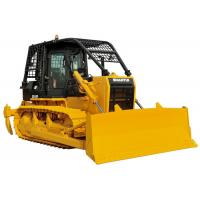 Forest Crawler Bulldozer Front Straight Blade Rear Winch For Cutting Log / Timber Manufactures